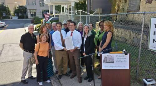 John Green House gifted to Preservationists